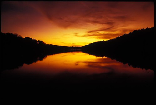 Tarrytown Lakes Sunset / Jim Anness