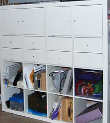 EXPEDIT cabinet with door & drawers