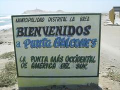 Punta Balcones (Mertxe Martinez) Tags: travel viaje peru southamerica mar playa images per paseo cielo punta olas mirador visita sudamerica balcones piura peruvianimages peruvianimagesaward distritolabrea