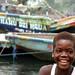 Cameroon - Idenau Boat Boy