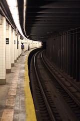 Brooklyn (megnyc) Tags: city urban newyork lines brooklyn subway vanishingpoint curve forthamiltonparkway flickrchallengegroup flickrchallengewinner