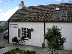 The First Fruits Tearoom in Tarbert - great coffee and breakfasts - in fact, the only good coffee I had on the whole trip!
