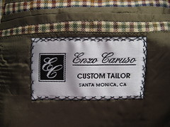 Enzo Caruso jacket label