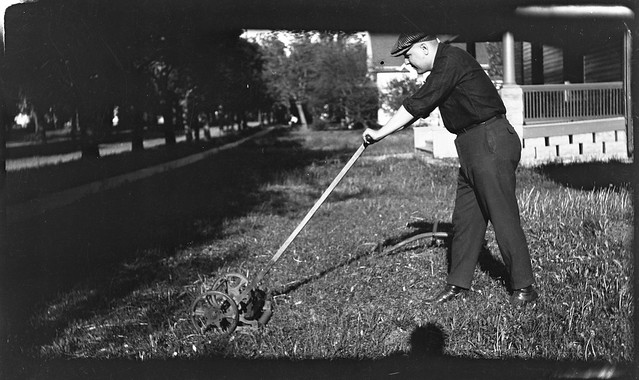 1910s - Guy Louis Spencer Mowing