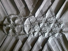 Flower Trapez Metamorphose (Yureiko) Tags: flower paper origami papier tessellation paperfolding metamorphose trapez papierfalten elefantenhaut yureiko melinahermsen elefanthide