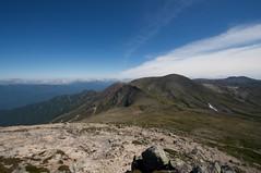 鋸岳と北鎮岳