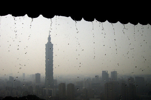 雨中的101