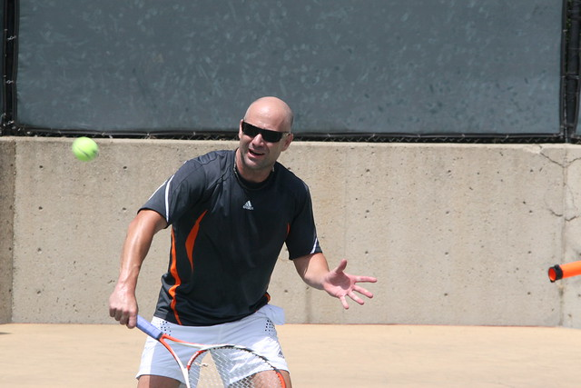 andre agassi by ubignut