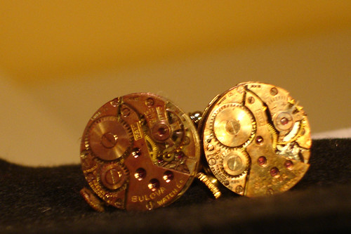 Steampunk Cufflinks (Matt's)
