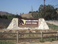 Malibu Creek State Park. (09/14/2008)