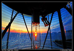 Show Me the Way (TranceVelebit) Tags: light sea lighthouse bulb dusk horizon croatia adriatic hrvatska jadran suton dugiotok velirat svjetionik aleksandargospic