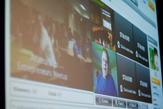 Triangle Tweetup and Robert Scoble on AWE Videocast about Twitter