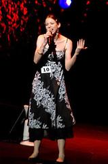 080923 - 由ANIMAX頻道主辦的「2008年第二屆日本動畫歌曲大獎賽」由27歲旅日的加拿大女性參賽者Catherine St. Onge奪下日本全國冠軍
