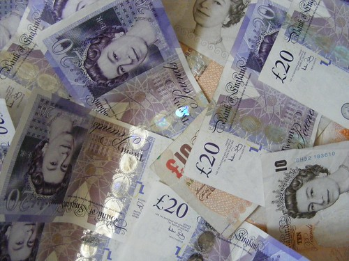 Money via Flickr CJ Isherwood