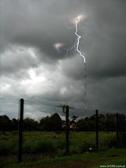 Lightning (DrGEN) Tags: santa storm santafe argentina clouds fence grey gris cloudy nubes rosario bolt tormenta lightning fe rayo ceres relampago nuboso wpblog abigfave drgen goldstaraward wwwdrgencomar