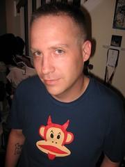 Shawn & his awesome shirt (PunkJr) Tags: shawn slightlynorth