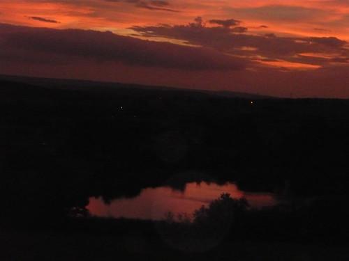 Lake twilight