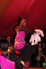 African Dancing at Moyo