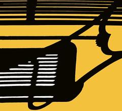 bench (eYe_image) Tags: bench shadow birmingham michigan abstract abigfave abstractartaward