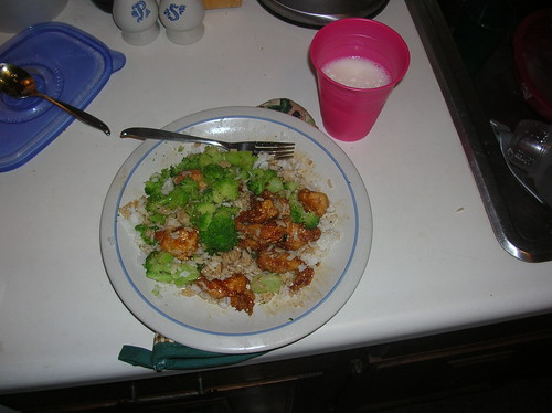 Sesame Chicken Dinner