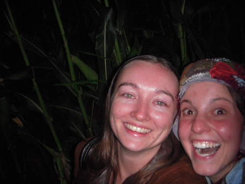 Diana and I in the Maize