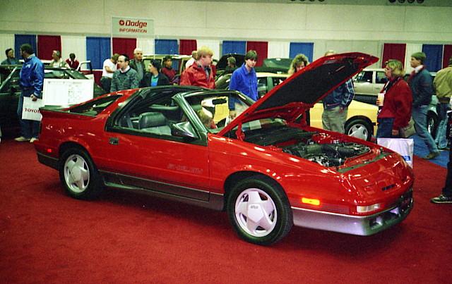 shelby dodge 1989 mopar daytona carshow baltimoremd ttop gbody fwdmopar baltimoreinternationalautoshow