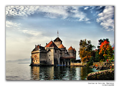 Chateau de Chillon (nep000) Tags: castle switzerland geneva front explore page hdr lakegeneva montreux chateaudechillon superaplus aplusphoto favemegroup4 explore1912thoct08 laclemanmontreux leuropepittoresque