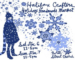 Halifax Crafters december08 show poster