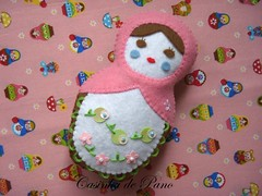 Matrioska (Casinha de Pano) Tags: handmade felt feltro matrioska