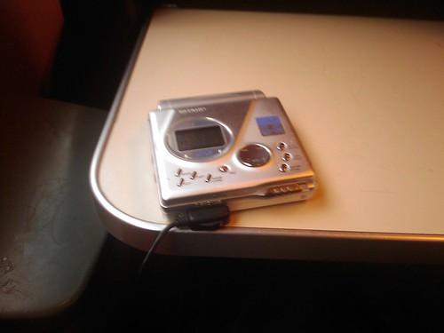 My trusted Sharp MiniDisc recorder