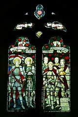 1914-1918 memorial window hellidon church