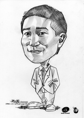Caricatures Web in Travel 2008 Crid Yu