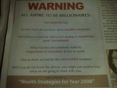 You don't need good English if you want to be a millionaire
