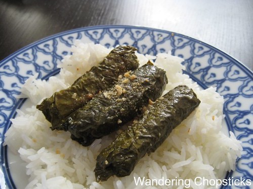 Bo Nuong La Nho (Vietnamese Grilled Beef-Stuffed Grape Leaves) 7