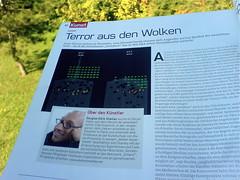 Terror aus des Wolken - Gee Magazine October 2008