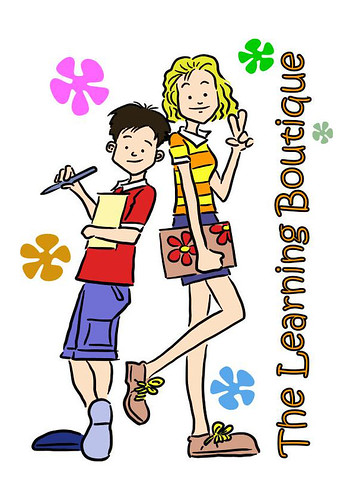 The Learning Boutique mascots final artwork path