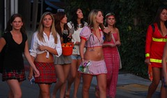 SDSU Sorority Girls in slutty Halloween costumes - by San Diego Shooter