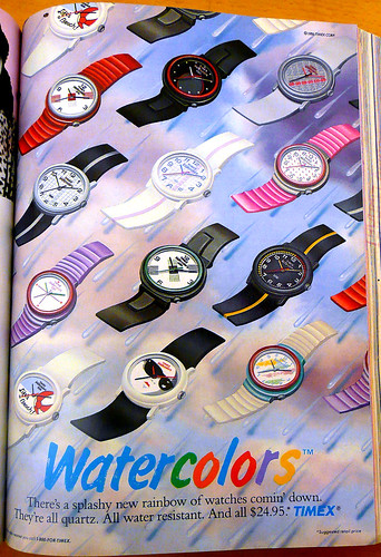 Timex August 1986 by LauraMoncur from Flickr