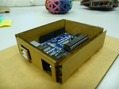 Card board housing for Arduino v2.0