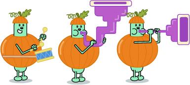 Pumpkin Drummer