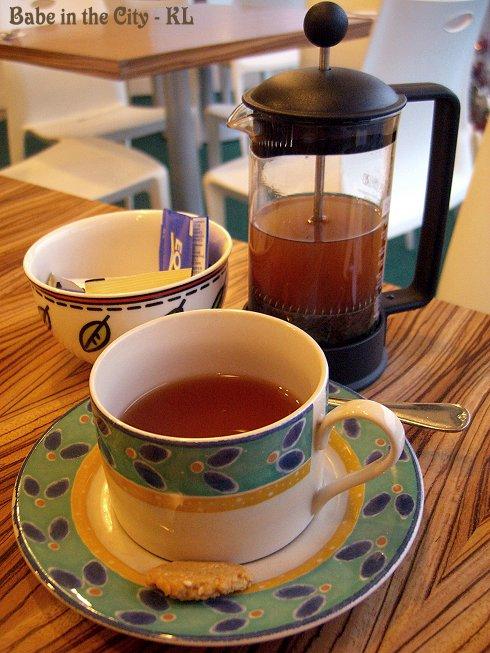 CM - lemongrass ginger tea (RM7.00)