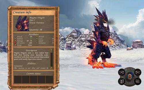 Fortress Magma Dragon