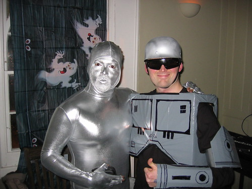 Silver Surfer and Robocop