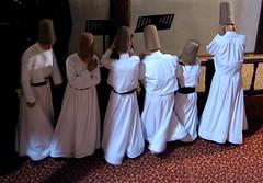 The dance gets started. (Praziquantel) Tags: turkey dance sema bursa whirlingdervishes