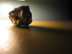 tin foil ball :p (Maʝicdölphin) Tags: macro canon ball powershot tinfoil crumpled a590