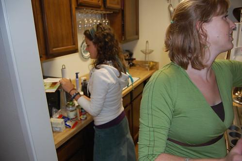 jamie and i begin vegan cupcake mania