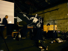 2right. (spuddleyspudd) Tags: cinema musicians scotland diy lowlight glasgow warehouse german silentmovie screening pointlesscreations spudd lowsalt conradveidt paulwegener photographism juddbrucke thenowmuseum thestudentofprague livemusicalscore