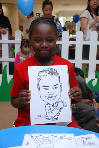 caricature live sketching for West Coast Plaza day 2 - 22