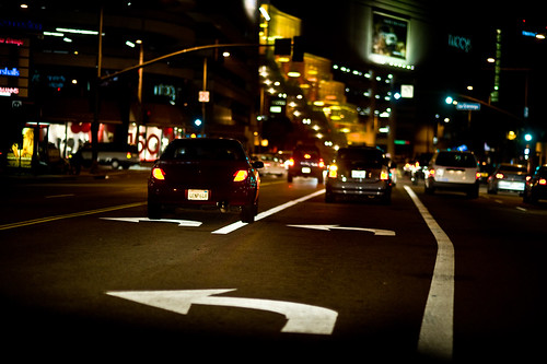 LA night drive
