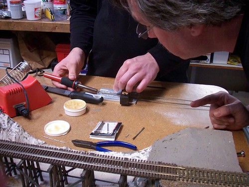 Nick soldering guard rails